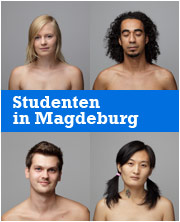 Studenten in Magdeburg